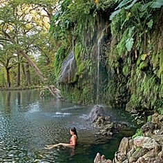 4. Go for a Swim | 16 Adventures in Texas' Hidden Hill Country | Southern Living