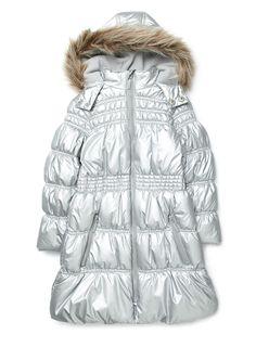 Details about Women's Luxurious Goose Down Jacket Long Coat Fur ...