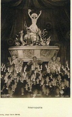 The Metropolis film in Berlin, 1927 A production of Turandot with Brigitte Helm Metropolis Film, This Side Of Paradise, Gatsby, Moonlight, Berlin, Exotic, Mystery, Romantic, Adventure