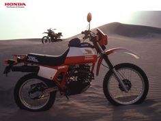 Honda XL250R ParisDakar ad.