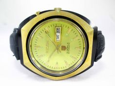 VINTAGE GENTS RICOH AUTOMATIC DAY-DATE 21 JEWELS MENS WRIST WATCH RIC-4 #RICOH…