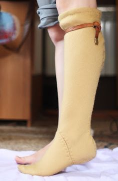 Gorgeous handmade stockings. www.silviage.pl