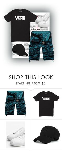 """""""Rosegal"""" by loveart5 ❤ liked on Polyvore featuring Vans, MANGO MAN, men's fashion and menswear"""