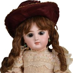 Rare Tete Jumeau Bebe with Sleeping Eye Mechanism - 13 Inches from beckysbackroom on Ruby Lane