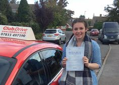 Massive congratulations to Aimee, who has passed her driving test with just four driver faults this morning at Reading Test Centre. Aimee did so well, the examiner said it was a really nice drive! www.clubdrive.co.uk #drivingtestpass