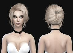 Stealthic: 500 500 Follower Gift Newsea Starlet Conversion hairstyle - Sims 4 Hairs - http://goo.gl/1LS418