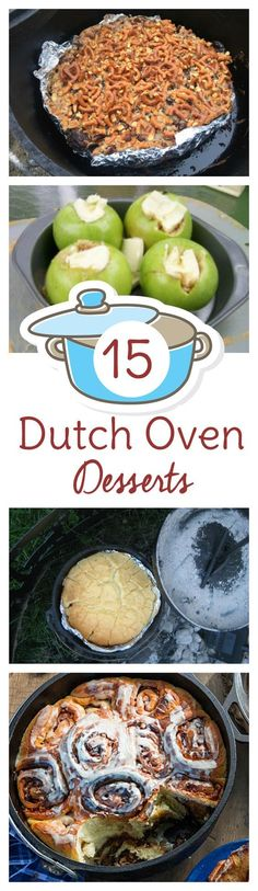 Whether you're into camping or preparedness or just love cooking with cast iron, you'll love these dutch oven dessert recipes. Some of the best dutch oven desserts are often the simplest