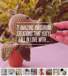 71 #Amazing Amigurumi #Creations That You'll Fall in #Love with ... - #DIY
