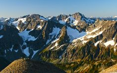 Sahale Glacier Camp, North Cascades National Park - It's so gorgeous up there. Definitely one of my favorite views.