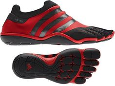Adidas Adipure Trainer Copies Vibram's Five Fingers For Indoor Workouts Barefoot Running Shoes, Sport Style, Sport Fashion, Fashion Shoes, Mens Fashion, Women's Shoes, Shoe Boots, Finger Shoes, Man Stuff