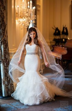 This OMG dress: http://www.stylemepretty.com/new-jersey-weddings/2015/02/25/elegant-spring-wedding-at-the-rockleigh/ | Photography: Christian Oth - http://www.christianothstudio.com/