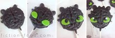 "Food Adventures (in fiction!): Toothless Cookie Pops for ""How to Train Your Dragon 2"""