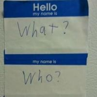 Hello My Name Is!