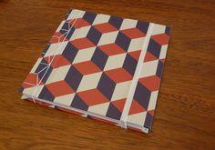 Encuadernación artesanal ❇ cuaderno realizado con Asa-No-Ha Toji, costura tradicional japonesa
