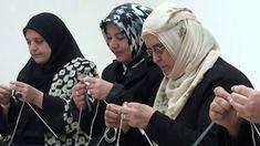 Kadınlardan örgü yarışması, knitting competition from women