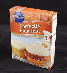 Pillsbury Perfectly Pumpkin Moist Supreme Cake Mix 15.25 oz Exp 2/2017