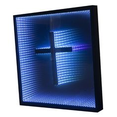 LED Infinity Mirror Design 1 - ArtForHotel.com