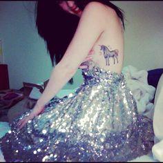 unicorn tattoo | Tumblr