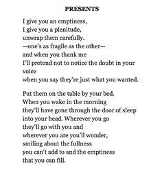 Norman McCaig's Presents