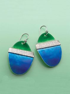 Learn about torch fired enameling, fold forming, and other must-know metalsmithing skills with these detailed technique directions. Once you master the techniques, create your own varying jewelry designs using these techniques. Required