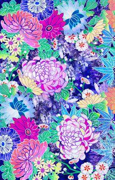 'Oriental flowers' by Elmira Amirova
