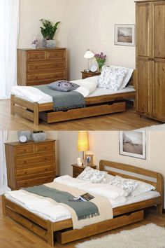 🛏 Our beds can be equipped with storage drawers.Under bed drawer is made entirely of pinewood. Wheels guarantee the ease of use. It is a great solution for storage of bedding, toys or many different type of objects. It allows you to properly use under bed space. #drawers #storage #bedroom #equipment #solidwood