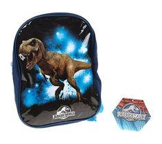 Mochila de T-Rex de Jurassic World - Todo Dinosaurios - La tienda del dinosaurio