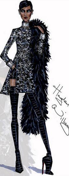Fashion Illustration by Hayden Williams