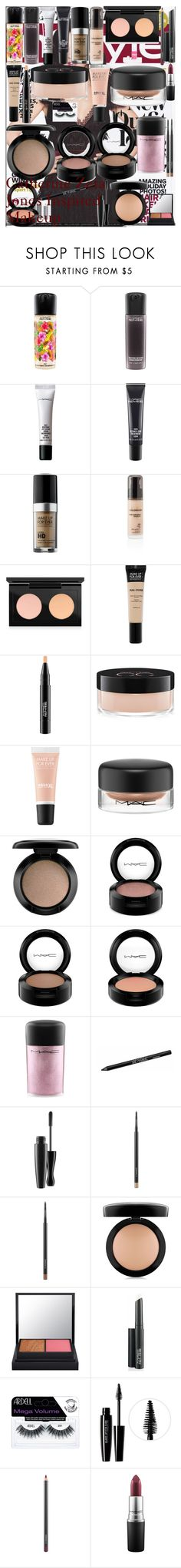 """Catherine Zeta Jones Inspired Makeup"" by oroartye-1 on Polyvore featuring beauty, MAC Cosmetics, MAKE UP FOR EVER, Revlon, Urban Decay and Barry M"