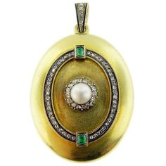 Austro-Hungarian Diamond, Natural Pearl, c. 1867-1872
