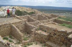 Atsinna Pueblo Ruins in El Morro National Monument, New Mexico. 6/9/15 My photos: http://coloradoguy.com/el-morro-national-monument/newmexico.htm