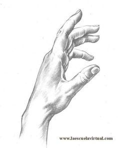 Aprende a dibujar manos de adulto, de niño, tutorial gratis curso online how to draw hands drawing draw dibujo lapiz dedos