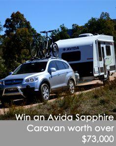 Win and Avida Sapphire Caravan