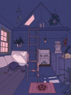 Pin by lizzy flores on anime in 2019 illustration art, anime art, aesthetic Aesthetic Drawing, Aesthetic Anime, Aesthetic Art, Art Anime, Anime Kunst, Art And Illustration, Art Mignon, Anime Scenery, Bedroom Art