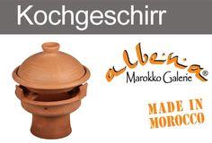 Traditionelle, marokkanische Tajinen und Mejmars. www.albena-shop.de How To Make, Cookware, Morocco, Traditional, Easy Meals, Cooking