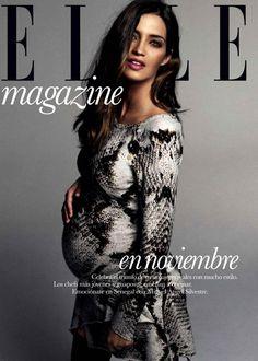 Sara Carbonero by Xavi Gordo for Elle Spain November 2013