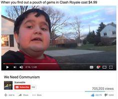 communist kid meme