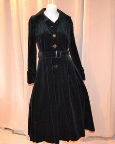 Vintage Coat, Rockabilly, Shirt Dress, Shirts, Black, Dresses, Fashion, Vintage Coat Rack, Vestidos