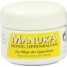 MANUKA HONIG Lippenbalsam:   Packungsinhalt: 5 ml Balsam PZN: 09262109 Hersteller: Health Care Products Vertriebs GmbH Preis: 3,51 EUR…
