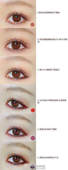 Image via We Heart It #asian #black #eyeliner #korean #kpop #makeup #makeup #makeuplips