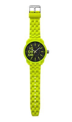 too cool for school – men's neon green watch
