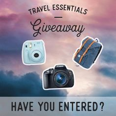 Have you entered yet? If not... NEXT head to ----> @casemeetsworld . . I've partnered with some of my favorite travel Instagrammers to give one lucky follower:  a Canon Rebel T6  an Instax camera  a Herschel backpack It's the perfect travel photography package! . All you need to do is follow these simple steps: 1). FOLLOW me. 2). LIKE this picture. 3). GO TO @casemeetsworld and REPEAT the steps on every account until you arrive back here. (You should have liked all the photos and followed…