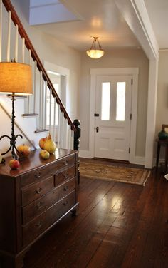 (In writing this post I realized two crazy & amazing things: one – I have been w… – Decorating Foyer Interior Exterior, Interior Design, Foyer Furniture, Coaster Furniture, Fireplace Lighting, Foyer Decorating, Decorating Ideas, Ikea, Entry Foyer