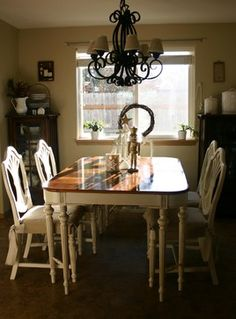 Refinish Dining Table Design, Pictures, Remodel, Decor and Ideas