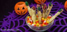 Creepy Finger Cookies - Halloween Marijuana Recipes - Powered by @cannnabischeri