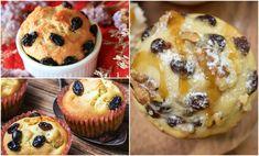 Un desert cu iz de primavara pe care trebuie sa il incerci! Uite cat de simpla e reteta de briose cu branza dulce si stafide inmuiate in rom, o gustare aromata si satioasa! Muffins, Deserts, Breakfast, Rome, Morning Coffee, Muffin, Postres, Dessert, Cupcakes