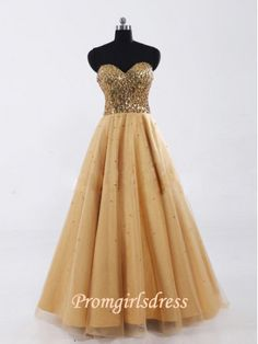 Cheap vestido de formatura, Buy Quality graduation dress directly from China gold graduation dresses Suppliers: Fashion Sweetheart Graduation Dresses Long Luxury Gold Sequin Bridesmaid Gowns Lace up vestido de formatura 2015 In Stock Graduation Dresses Long, Gold Prom Dresses, Prom Outfits, Tulle Prom Dress, Cheap Prom Dresses, Mermaid Dresses, Formal Evening Dresses, Homecoming Dresses, Wedding Dresses