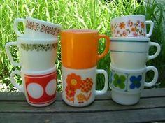 I own the orange Fire King mug.