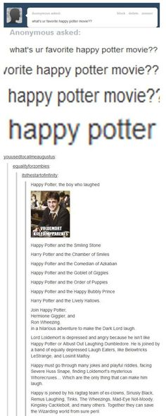 26 Funniest Things Tumblr Has Ever Said About Harry Potter | SMOSH: