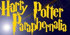 Harry Potter Paraphernalia